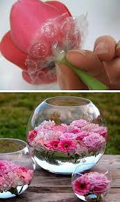 Floating Flower Ideas - Creating A Floating Flower Display