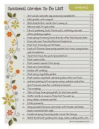 Spring Garden Checklist - Garden Tasks For Spring
