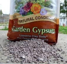 What Is Gypsum Using Gypsum For Garden Tilth